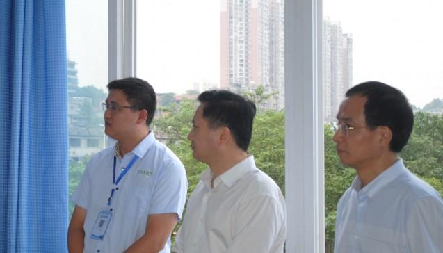 内江市市委书记杨松柏、市长任晓春莅临公司指导工作