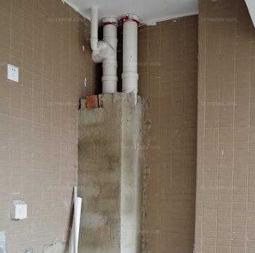 厨房下水管道的安装