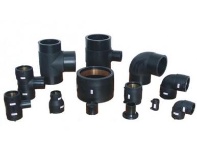 高密度聚乙烯HDPE给水管材管件、PE矿用管