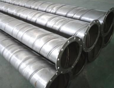 不锈钢加强筋螺旋焊管