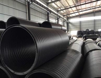 供应HDPE中空壁缠绕管 缠绕增强管 排污排水管