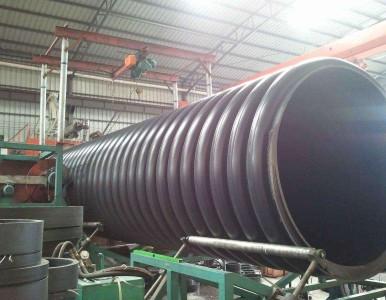 供应HDPE内肋缠绕增强波纹管 排污排水管报价