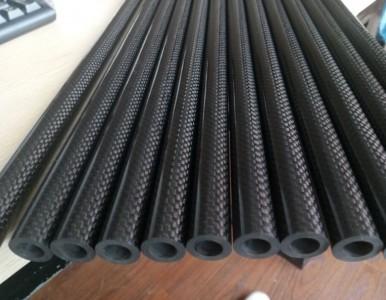 厂家直销耐腐蚀性好强度高的碳纤维管(3K平纹/斜纹)