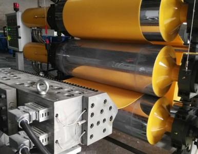 金纬机械XPE交联发泡设备及PP管材设备