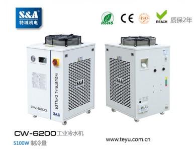 高速UV大型喷码机配了特域冷水机,客户反映质量好