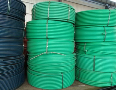 HDPE硅芯管通信管护套电信管采购价格40国标