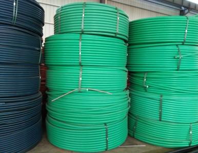 厂家直销HDPE硅芯管通信管护套电信管价格安装技术