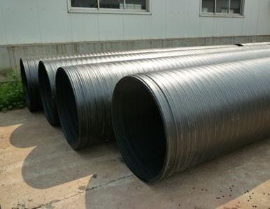 HDPE双平壁钢塑复合管价格