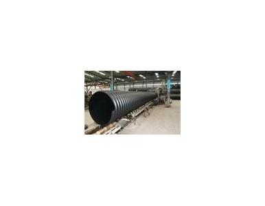 HDPE双平壁钢塑复合排水管
