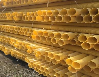 甘孜聚氯乙烯PVC-U双壁波纹管