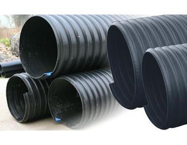 HDPE钢带增强缠绕排水管采购