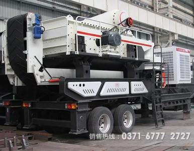 可用于露天采矿的车载移动破碎机有哪些