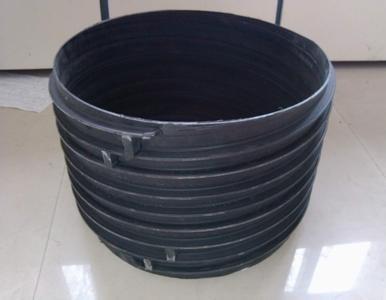 承插式塑钢缠绕排水管生产