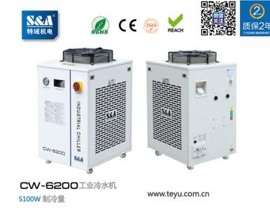 半导体激光投影仪冷却,特域冷水机品牌推荐 CW-6200