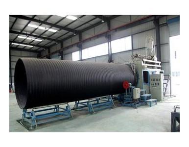 HDPE塑钢缠绕管生产销售