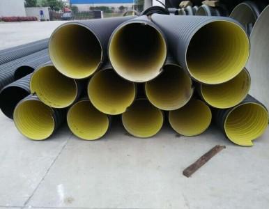 HDPE钢带增强缠绕排水管销售