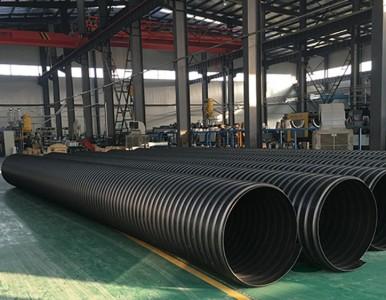 钢带管直销厂、大口径污水管钢带波纹管