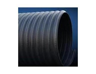 HDPE钢带增强缠绕管供应