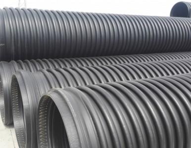 HDPE排污管厂家缠绕增强管直销