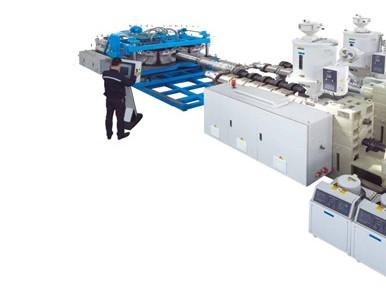 卧式 HDPE/PP/PVC 大口径双壁波纹管生产线