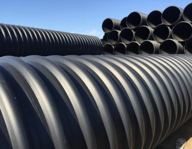 专业生产HDPE钢带管厂家400价格
