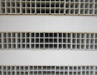 霸州鼎力供应PVC栅格管 四六九孔方管 单孔方管 规格齐全