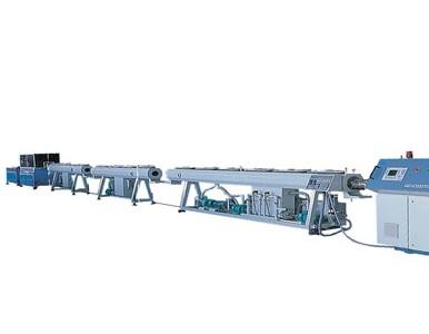 PEX\PA单层及多层小口径管材生产线
