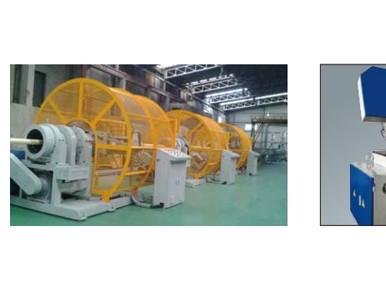 高压RTP编织复合管道生产线