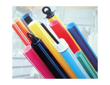 彩色HDPE硅芯管生产