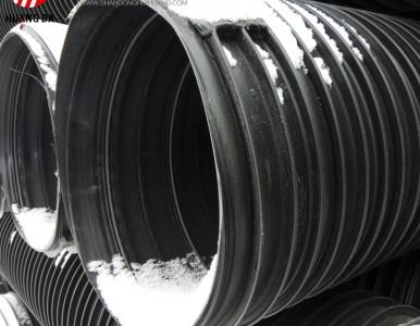 塑钢缠绕管厂家直销 塑料塑钢缠绕管 塑钢增强 排污排水管