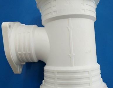 厂家供应法兰式连接增强聚丙烯(FRPP)静音排水管道系统