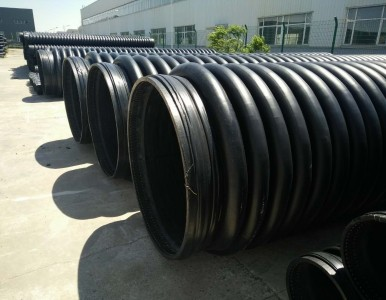 hdpe缠绕增强管专业市政管道供应商报价