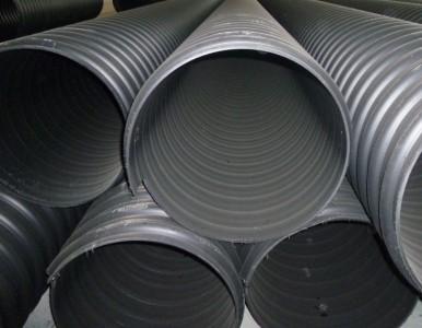 钢带增强螺旋波纹管/PE波纹管/钢带PE增强管