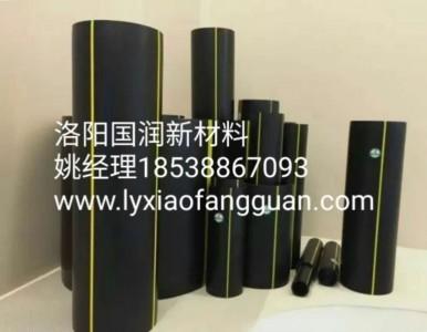 洛阳国润新材PE燃气管,HDPE波纹管,逃生管