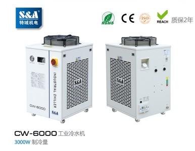 纺织机上要配双循环冷水机就选特域(S&A)品牌
