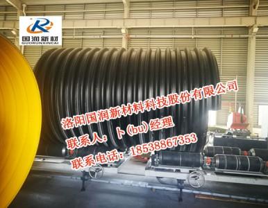 钢带增强波纹管---HDPE钢带增强螺旋波纹管