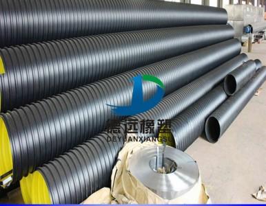 DN300壁厚4mm钢带波纹管生产厂家  河南钢带波纹管厂家