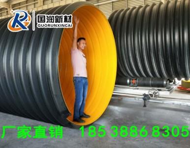湖南长沙大口径钢带波纹管供应厂家洛阳国润
