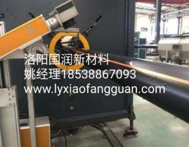 北京国润新材PE管PE给水管PE燃气管PE系列管道管材厂家