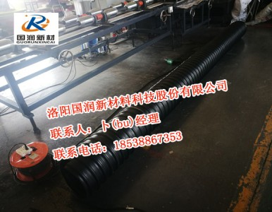 现货供应钢带波纹管 钢带增强波纹管厂家