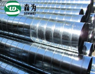 三明圆形暖通管道/三明镀锌圆形通风管厂家供应,价格低