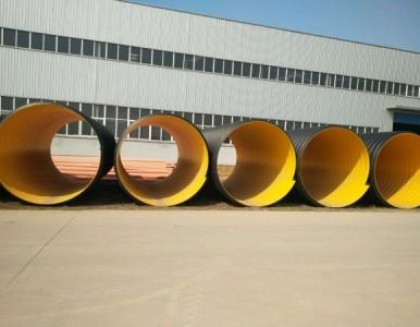 钢带增强PE螺旋波纹管产品介绍