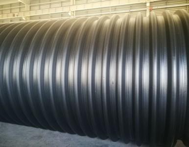 大口径排污波纹管 厂家生产钢带波纹管