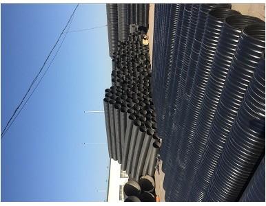 中空壁塑钢缠绕排水管