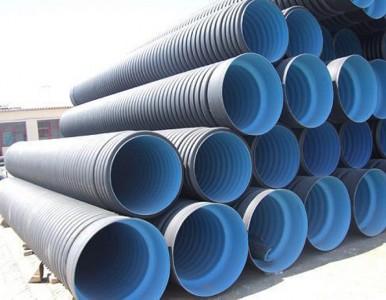 上海厂家供应HDPE双壁波纹管 大口径波纹管