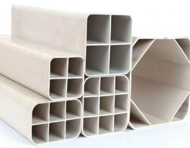 上海厂家供应PVC多孔栅格管 栅格式通信管