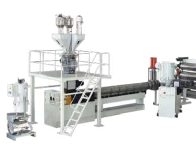 TPO、POE地板革生产线