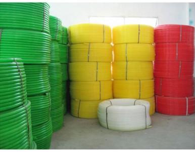 上海厂家供应PE线管 PE穿线管 PE子管 三色子管