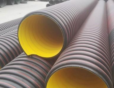 HDPE立筋增强缠绕排水管