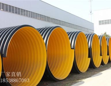 玉溪HDPE钢带增强螺旋波纹管